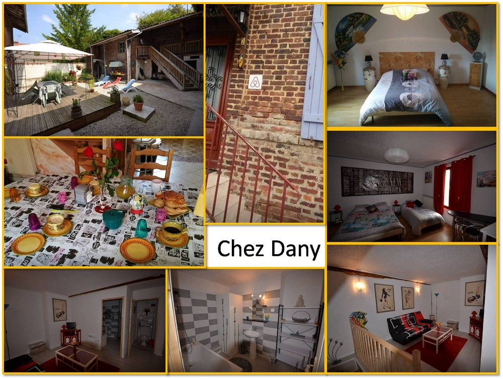 Chambre de village chez Dany