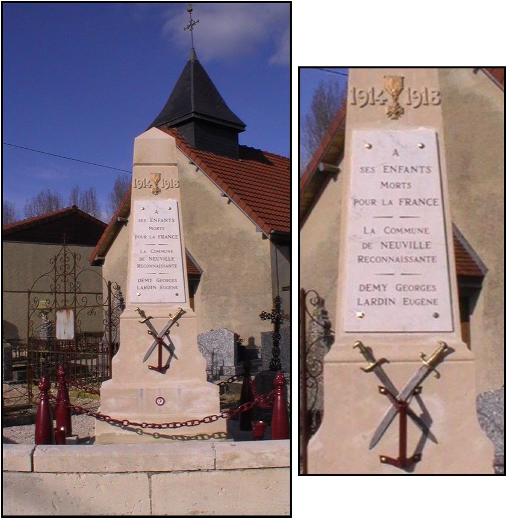 monument aux morts de neuville